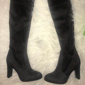 Sam Edelman thigh high boots size 6